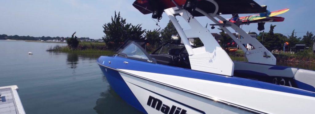 Mallibu Wakeboard Boat